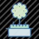 botanical, ecology, ecology and environment, fruit tree, gardening, tree, yard icon