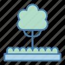 botanical, ecology and environment, fruit tree, garden, gardening, tree, yard icon