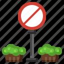 signaling, circulation, signs, stop, sign icon
