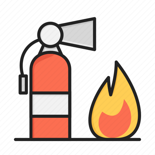 birn, extinguisher, fire, fire extinguisher icon