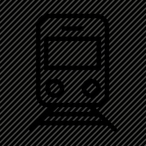 bus, metro, train, transport, transportation, travel icon