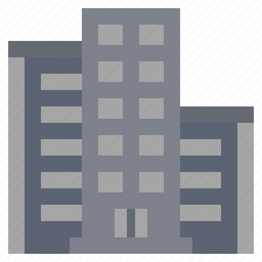 architecture, building, buildings, city, skyscrapers, town, urban icon