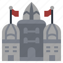 buildings, castle, construction, fantasy, medieval, monument, monuments icon