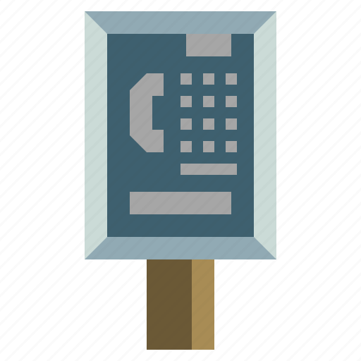 booth, box, call, communication, phone, technology, telephone icon