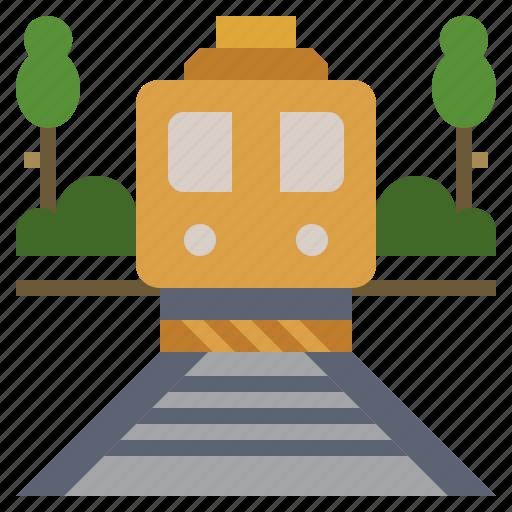 public, railway, subway, train, transport, transportation, travel icon
