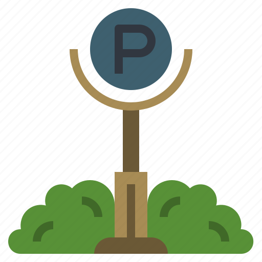 automobile, city, parking, sign, signs, transport, vehicle icon