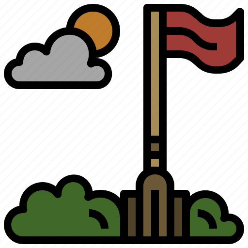 flag, flagpole, flags, maps, navigation, wave, waving icon