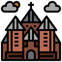 building, buildings, jew, jewish, monuments, religion, synagogue icon