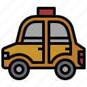 automobile, car, taxi, transport, transportation, travel, vehicle icon