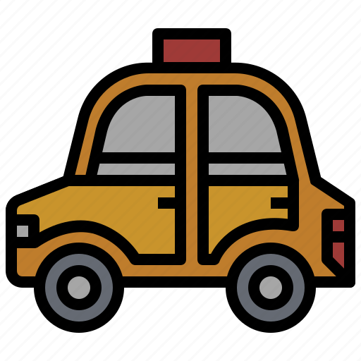 automobile, car, taxi, transport, transportation, travel, vehicle icon