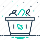 basket, grocery, purchase, shoping, supermarket, trolly, vegetables icon