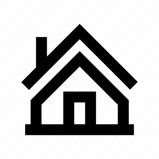 building, cottage, country house, hut, rural house icon