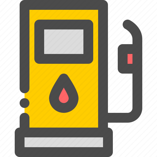 fuel, gas, oil, station, vehicle icon