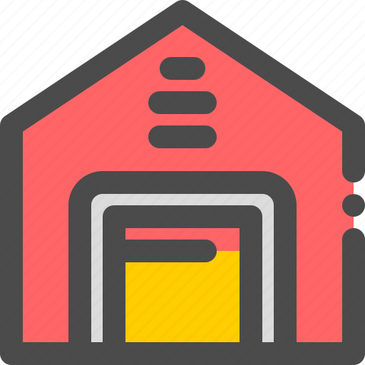 goods, house, industry, storage, warehouse icon