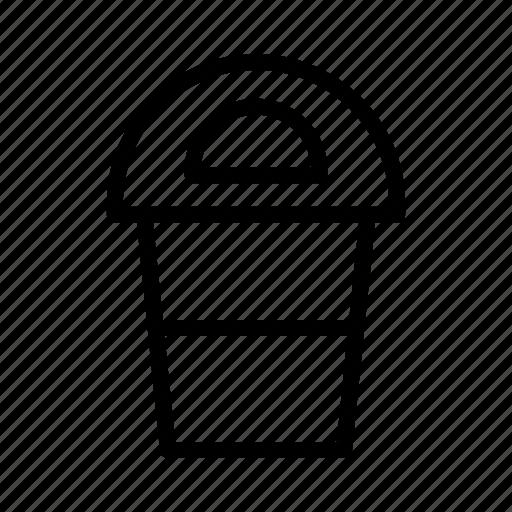 delete, dust bin, remove, trash icon