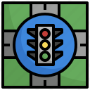 traffic, lights, vehicle, transportation, automobile