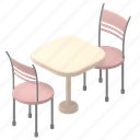 furniture, table, cafe, chair, chairs, dining