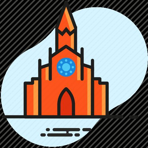 catholic, christian, church, faith, pray, religion, temple icon