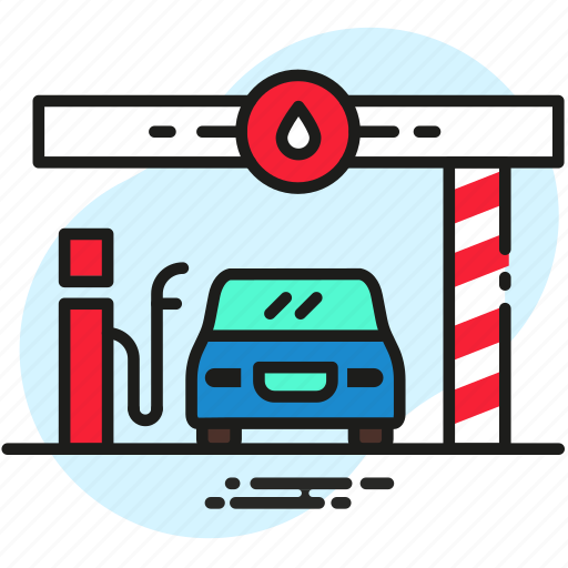 auto, car, combustible, fuel, fueling, petrol icon