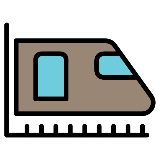 metro, train, transport, transportation, travelling, vehicle icon