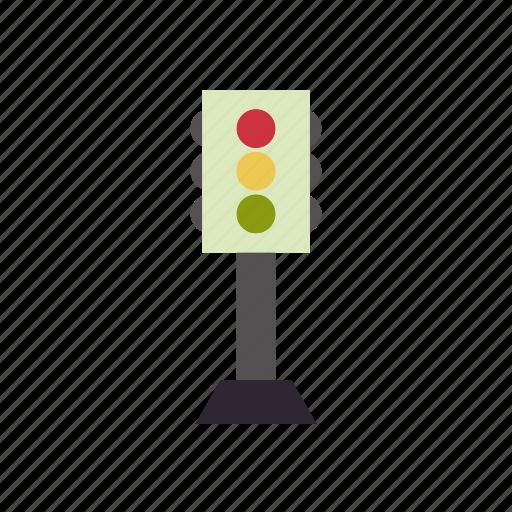 building, city, elements, facilities, park, public, traffic sign icon