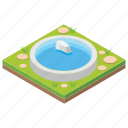 cityscape, hydro plant, irrigation, pool, water reservoir icon