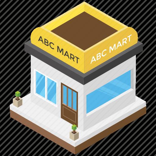 mart, mart exterior, mini mall, shop, shopping mall icon