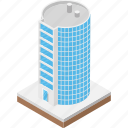 city buildings, high-rise building, modern architecture, skylines, skyscraper icon