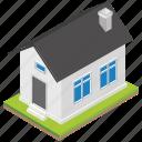 cityhouse, family house, home, residential building, villa icon