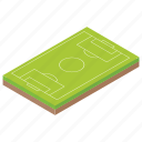 football ground, football pitch, pitch, playground, stadium icon