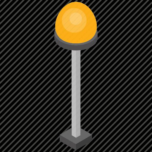lantern, park lamp, park light, road light, street light icon