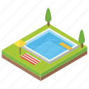 cityscape, outdoor pool, pool, swimming pool, water reservoir icon