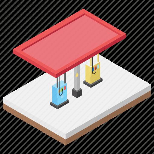 cng station, fuel dispenser, fuel pump, fuel station, petrol pump icon