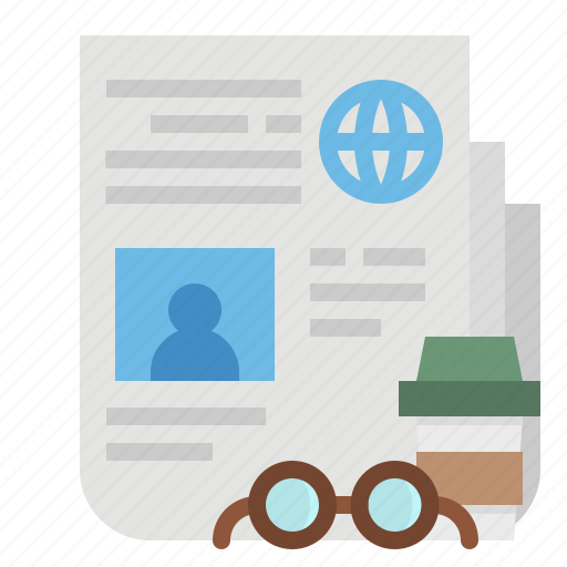 journal, news, newspaper, report icon