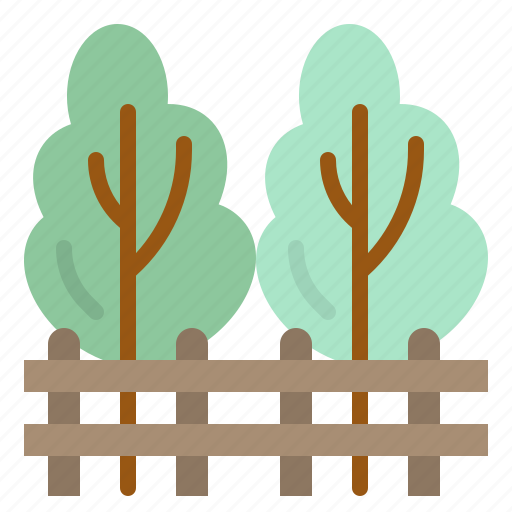forest, pines, tree, trees, woodland icon