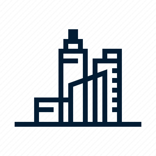 building, city, construction, graphic, real estate, skyline, tool icon