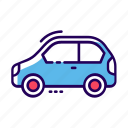 automobile, car, conveyance, transport, vehicle icon