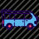 automobile, conveyance, transport, van, vehicle icon