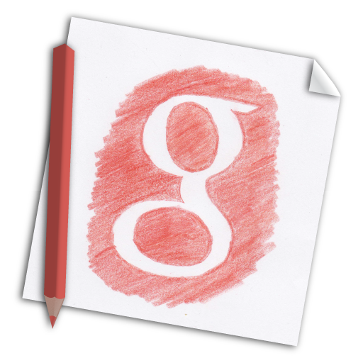 Google, color pencil, colour pencil, g+, google+, hand-drawn, media icon - Free download