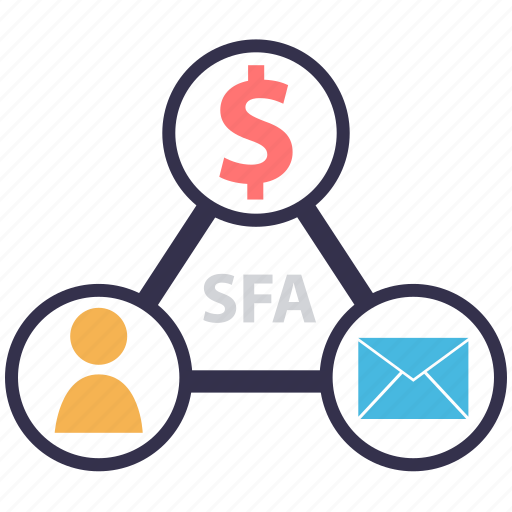 Automation, information system, is, it, marketing, salesforce management systems, sfa icon - Download on Iconfinder