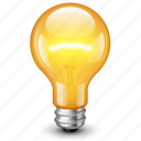 bulb, electric, electricity, energy, flask, idea, lamp, light, lightning, power icon