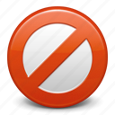 ban, cancel, close, delete, exit, prohibition, remove, stop, trash icon