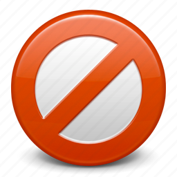 ban, cancel, close, delete, exit, prohibition, remove, stop, trash icon