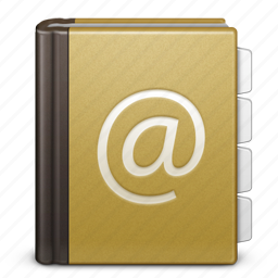 address book, book, bookmark, call, contact, contacts, email icon