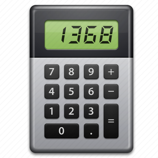 calc, calculate, calculator, count, education, learning, math icon
