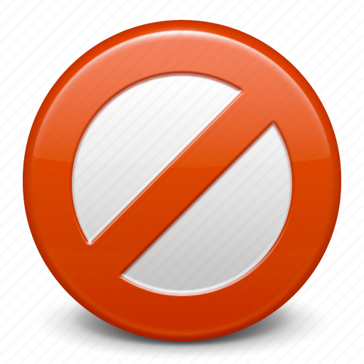 Cancel, close, trash, remove, ban, stop, prohibition icon - Download on Iconfinder