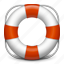 about, help, info, information, lifebuoy, question, support icon