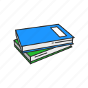 classroom, education, book, notebook, office supply, school supply icon