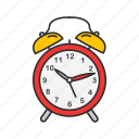 clock, hour, time, wall clock, watch icon