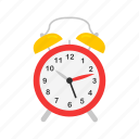 alarm clock, classroom, clock, school supply, time, watch icon